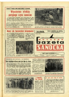 "Gazeta Sanocka ""Autosan"", 1979, nr 27"