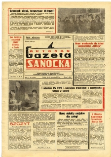 "Gazeta Sanocka ""Autosan"", 1979, nr 32"