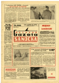 "Gazeta Sanocka ""Autosan"", 1979, nr 35"