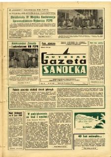 "Gazeta Sanocka ""Autosan"", 1979, nr 36"