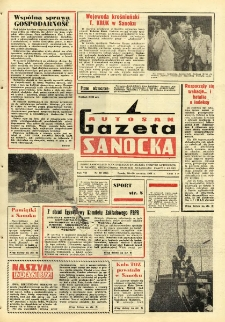 "Gazeta Sanocka ""Autosan"", 1980, nr 18"