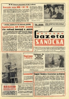 "Gazeta Sanocka ""Autosan"", 1980, nr 21"