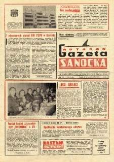"Gazeta Sanocka ""Autosan"", 1980, nr 29"
