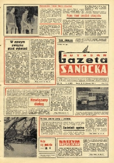 "Gazeta Sanocka ""Autosan"", 1980, nr 32"