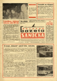 "Gazeta Sanocka ""Autosan"", 1981, nr 2"