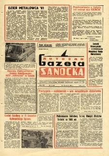 "Gazeta Sanocka ""Autosan"", 1981, nr 9"