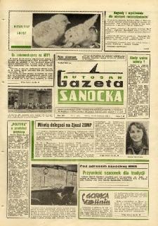 "Gazeta Sanocka ""Autosan"", 1981, nr 11"