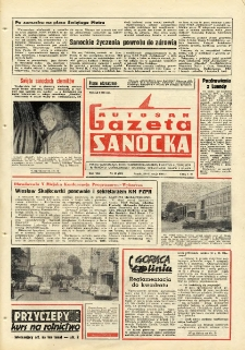 "Gazeta Sanocka ""Autosan"", 1981, nr 15"