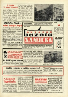 "Gazeta Sanocka ""Autosan"", 1981, nr 25"