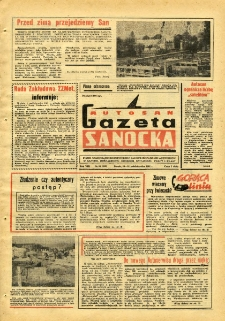 "Gazeta Sanocka ""Autosan"", 1981, nr 29"