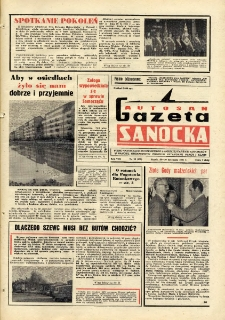 "Gazeta Sanocka ""Autosan"", 1981, nr 32"