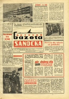 "Gazeta Sanocka ""Autosan"", 1982, nr 4"