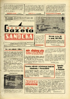 "Gazeta Sanocka ""Autosan"", 1982, nr 7"