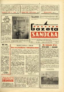 "Gazeta Sanocka ""Autosan"", 1982, nr 9"