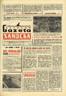 "Gazeta Sanocka ""Autosan"", 1982, nr 15"