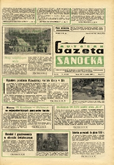 "Gazeta Sanocka ""Autosan"", 1982, nr 22"
