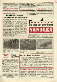 "Gazeta Sanocka ""Autosan"", 1983, nr 28"