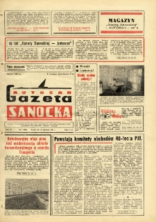 "Gazeta Sanocka ""Autosan"", 1984, nr 3"