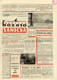 "Gazeta Sanocka ""Autosan"", 1984, nr 6"