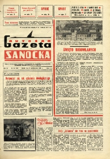"Gazeta Sanocka ""Autosan"", 1984, nr 29"