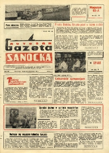 "Gazeta Sanocka ""Autosan"", 1985, nr 17"