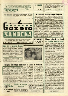 "Gazeta Sanocka ""Autosan"", 1985, nr 36"