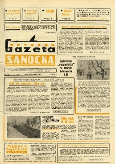"Gazeta Sanocka ""Autosan"", 1986, nr 6"