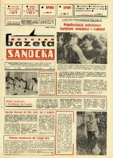 "Gazeta Sanocka ""Autosan"", 1986, nr 17"