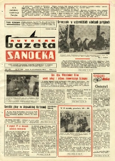 "Gazeta Sanocka ""Autosan"", 1986, nr 29"