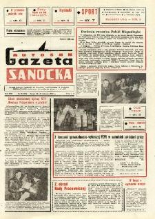 "Gazeta Sanocka ""Autosan"", 1986, nr 33"