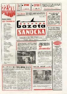 "Gazeta Sanocka ""Autosan"", 1987, nr 21"