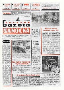 "Gazeta Sanocka ""Autosan"", 1987, nr 23"