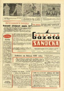 "Gazeta Sanocka ""Autosan"", 1987, nr 35"