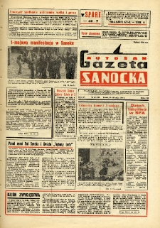"Gazeta Sanocka ""Autosan"", 1988, nr 14"