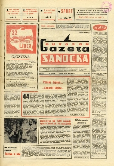 "Gazeta Sanocka ""Autosan"", 1988, nr 21"