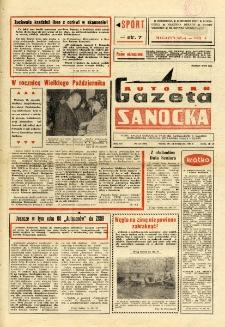 "Gazeta Sanocka ""Autosan"", 1988, nr 33"