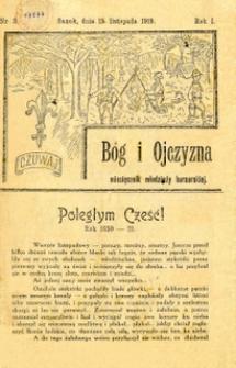 Bóg i Ojczyzna, 1919, nr 3