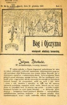 Bóg i Ojczyzna, 1919, nr 4