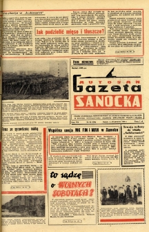 "Gazeta Sanocka ""Autosan"", 1980, nr 34"