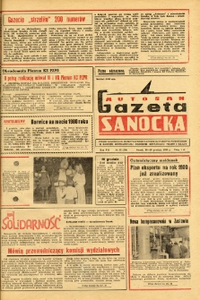 "Gazeta Sanocka ""Autosan"", 1980, nr 35"