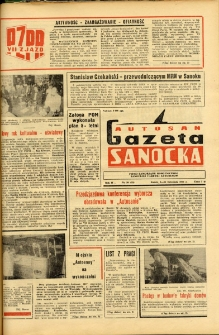 "Gazeta Sanocka ""Autosan"", 1975, nr 20"