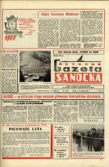 "Gazeta Sanocka ""Autosan"", 1977, nr 1"