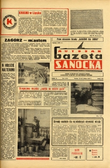 "Gazeta Sanocka ""Autosan"", 1977, nr 4"