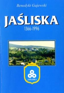Jaśliska : [1366-1996] : zarys monograficzny