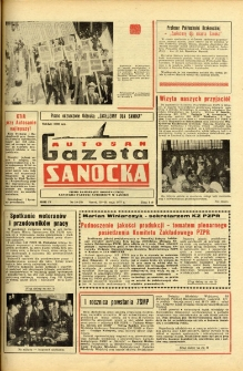 "Gazeta Sanocka ""Autosan"", 1977, nr 10"