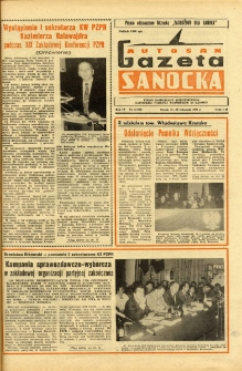 "Gazeta Sanocka ""Autosan"", 1977, nr 21"