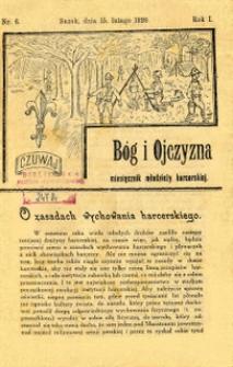 Bóg i Ojczyzna, 1920, nr 6