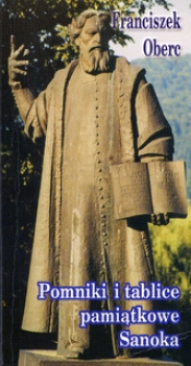 Pomniki i tablice pamiątkowe Sanoka