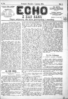 Echo z nad Sanu, 1885, nr 6