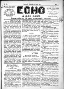 Echo z nad Sanu, 1885, nr 10